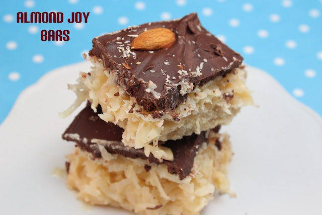 Almond Joy Bars.