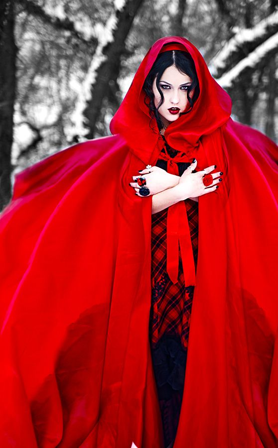 Red Riding Hood by Elena Kucher, via 500px