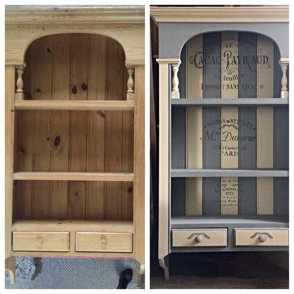 Upcycled Dresser Top   #UpcycledDresser   #PaintedFurniture