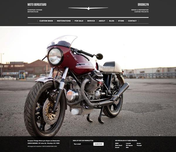 Moto Borgotaro #Brand & #Website Design by Matias Corea, via #Behance