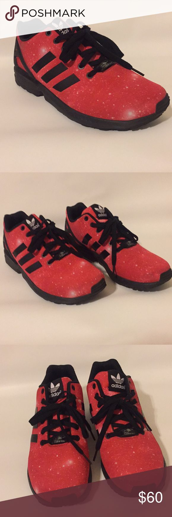Adidas ZX Flux Worn once. In great condition. Shoe looks brand new. The writing inside the #shoes is still visible. Adidas Shoes Athletic Shoes