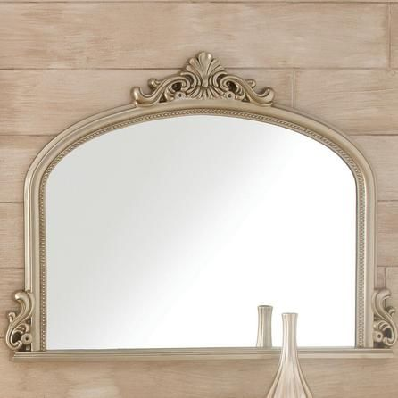 Tulip Ornate Over Mantle Mirror | Dunelm