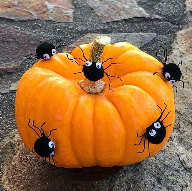 This National Pumpkin Day Why Not Decorate Your Pumpkin Instead Of Carving It It Ll La Pumpkin Decorating Projects Pumpkin Decorating Kits Pumpkin Decorating