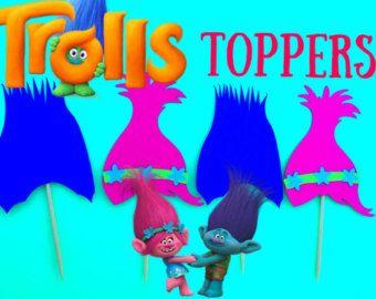 Trolle Foto Requisiten Trolle Party Trolle von LovelyPartyStudio