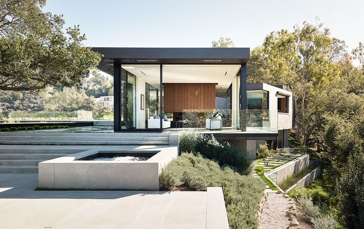 Oak Pass House by Walker Workshop in Beverly Hills on Yatzer