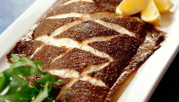 Perfekt når du skal lage mat til mange! Server kveiten med persillesmør og poteter. #fisk #oppskrift