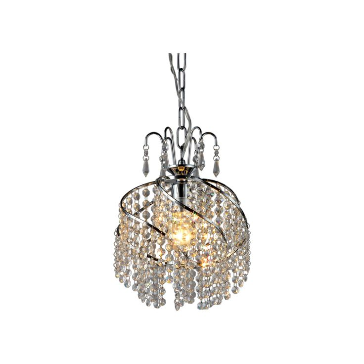 Warehouse Of Tiffany Ceiling Lights - Silver (10 X 10 X 14)