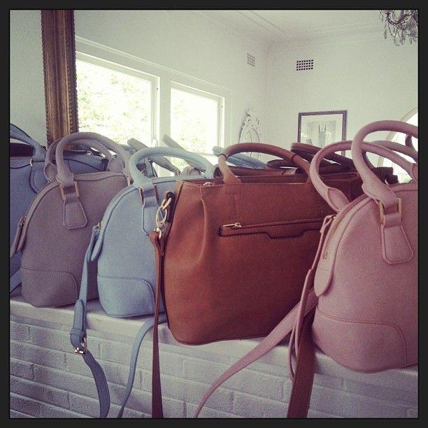 Zjoosh handbags in fab colours www.zjoosh.com.au