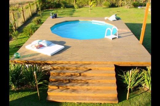 piscina no deck