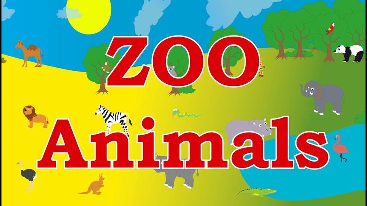 🦁Learn ZOO Animals Names and Sounds For Kids Children Babies and Toddlers - Best Learning For Kids