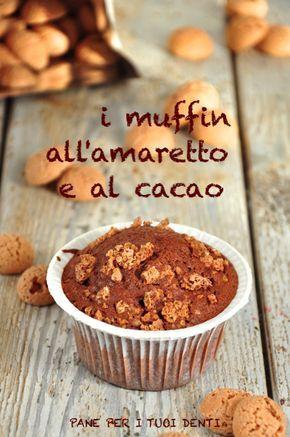 Muffin con Amaretti e Cacao.
