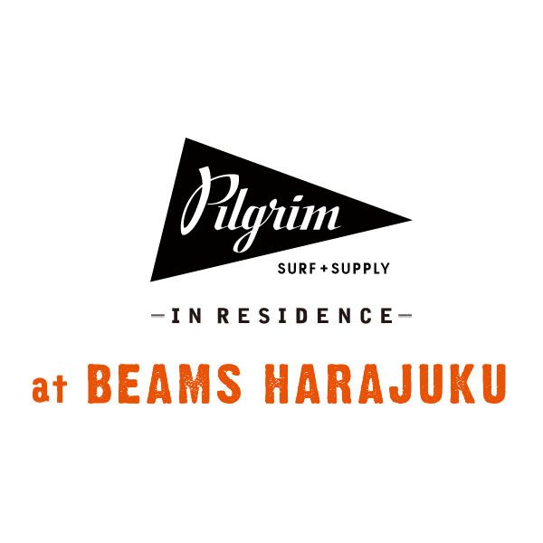 http://pilgrim.beams.co.jp/ 2014年3月「ビームス 原宿」にレジデンスストアとして、<ピルグリム サーフ+サプライ>をオープンします。洋服、本、サーフボード、家具やアートなど、今一番気持ちのいいアメリカンライフが感じられる、空間と商品で皆様をお迎えいたします。是非ご期待ください。
