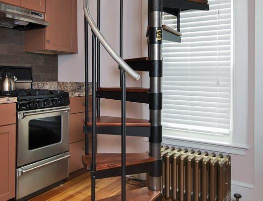 Best The Butler Spiral Staircase Stairs In Kitchen Spiral 400 x 300