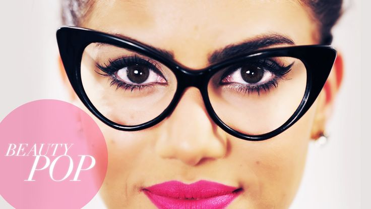 Nerd Chic: Cat Eye Makeup for Glasses - Beauty Pop! with Camila Coelho