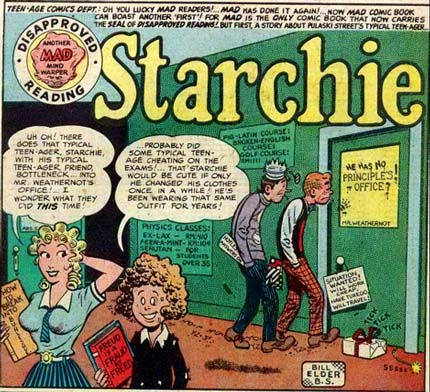 Starchie, parody by Will Elder