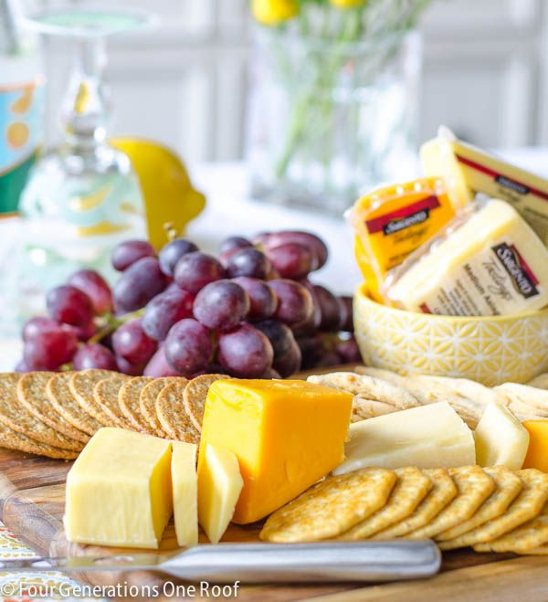 How To Make A Cheese And Cracker Platter Cheese And