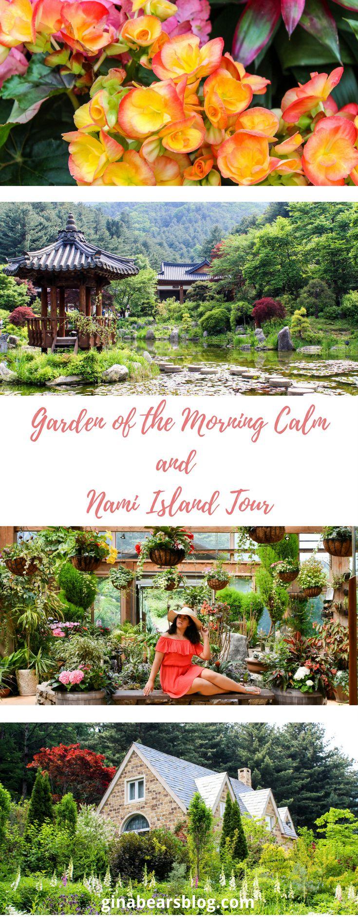 Garden of the Morning Calm and Nami Island Tour http://ginabearsblog.com/2017/05/garden-of-the-morning-calm-and-nami-island-tour/