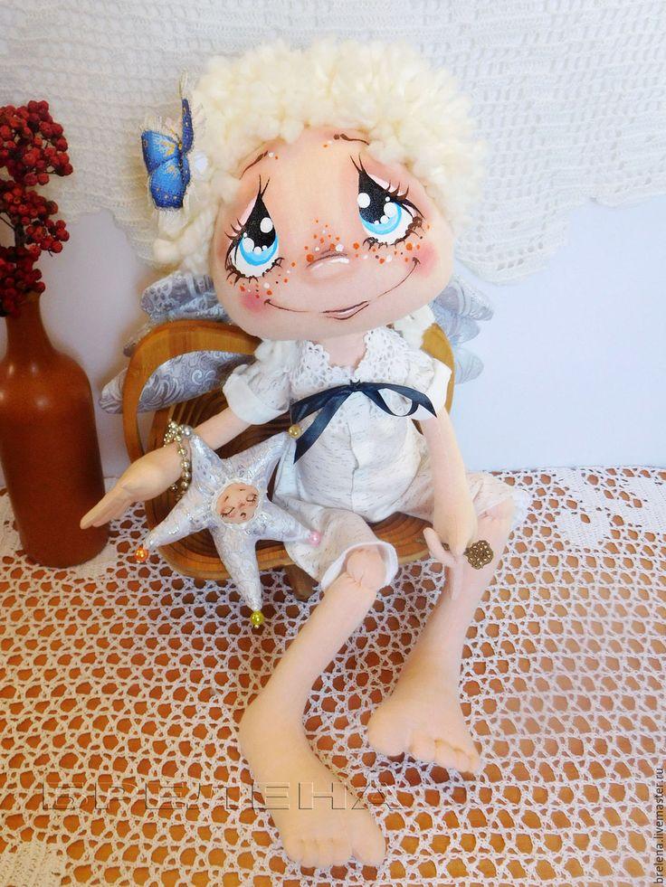 Купить Текстильная кукла Светлый Ангел. 60 см. Интерьерная кукла. - текстильная кукла