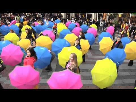 Check the open close section from 1.13. See You in the Crosswalk - Official Umbrella Flash Mob #THATfest