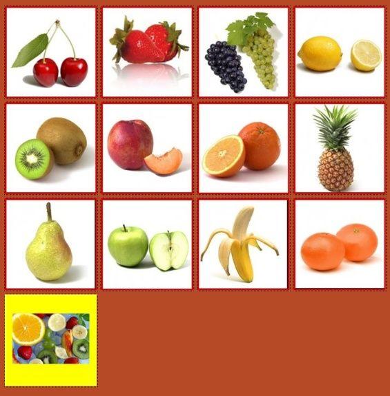 Ovocie http://www.pexeso.net/spusteni-hry?code=00E8A&lang=cs