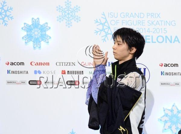 Figure skating. ISU Grand Prix Final. Men. Short Program.