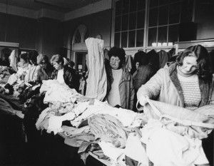 Jumble Sales.... remember mum and dad taking us to them when we were kids.