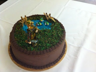 Sarah Jones Cakes!:   Duck Hunting Grooms Cake