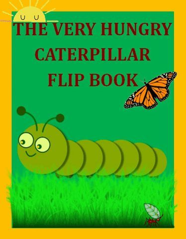 The Very Hungry Caterpillar Flip Book