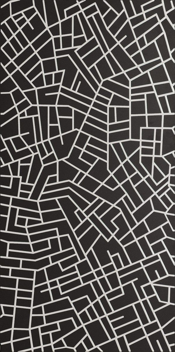 Revestimiento de pared ultra fino de gres laminado SIMTECH STREETS IN SHADE Colección Simtech by LEA CERAMICHE diseño Diego Grandi