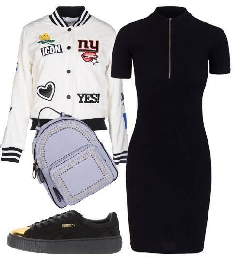 Sporty Chic outfit για ραντεβού το Φθινόπωρο