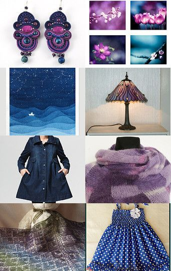 Starry Night by Ewelina on Etsy--Pinned with TreasuryPin.com