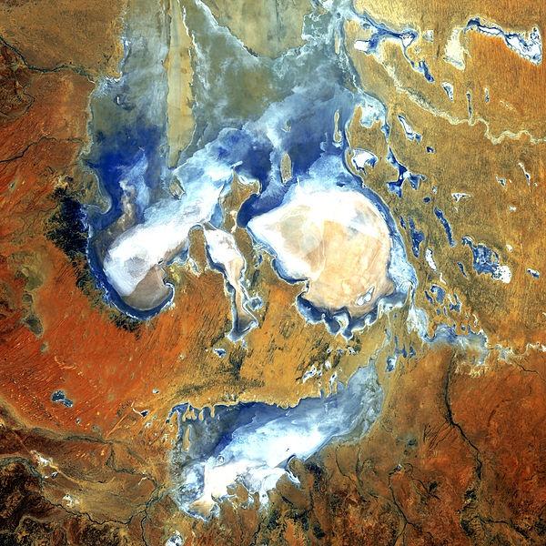Lake Eyre -Australia - NASA Goddard Photo
