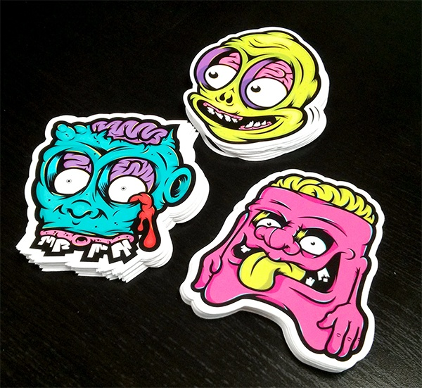 Danger brain x baker2d stickers by danger brain via behance