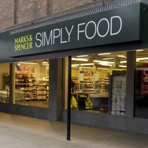 Marks and Spencer - British department store with great food department. We love to get their sandwiches and treats for lunch.