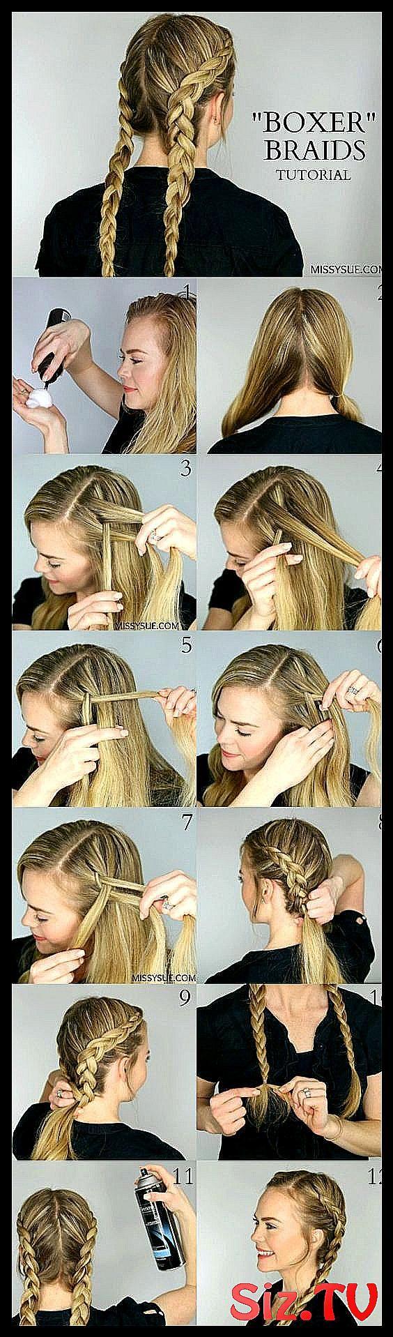 Tuto 10 id es de coiffures tress es rep r es …