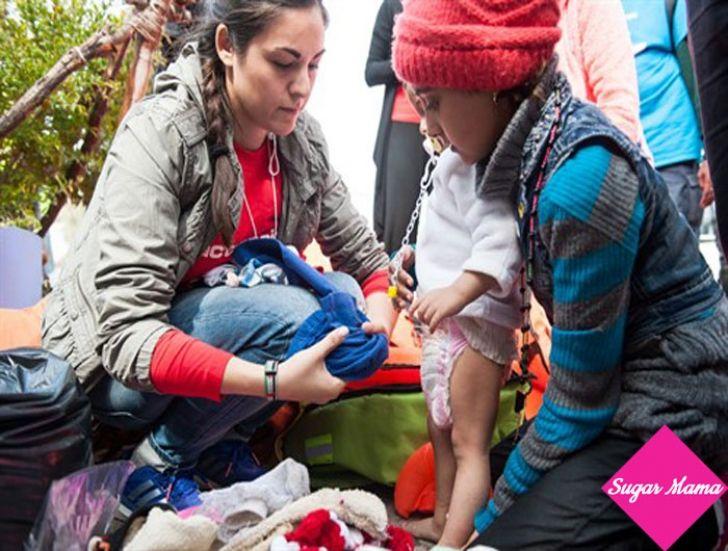 H ActionAid για τους πρόσφυγες στη Λέσβο