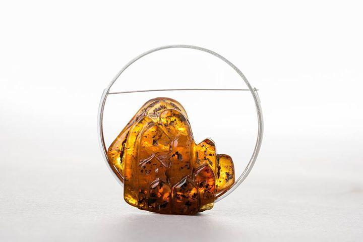 Aline Kokinopoulos -  Deux pièces selectionnéss pour la Biennale de l'ambre à Kaliningrad