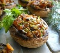 Ciuperci Umplute cu Orez | Retete Culinare Rapide Usoare Si Delicioase