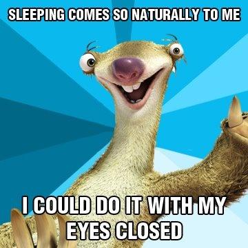 74ae434d72934f93cdad207e29d832fd a sloth ice age 8 best ice age wisdom images on pinterest ice age, meme and memes