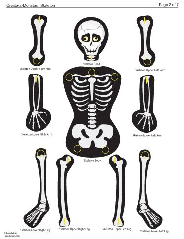 Best 25 skeleton template ideas on pinterest skeleton for Skeleton template to cut out