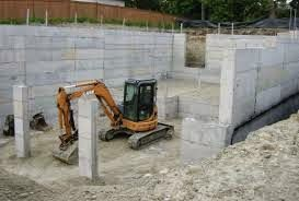 Concrete foundations is strong, easy to mold when wet, relatively resilient and is a cost effective raw material for building construction. In order to make concrete slab, you just need to prepare a wooden frame shape in the same way as the shape you would like to have concrete.