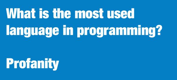 What is the most used language in programming?