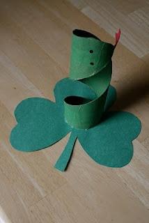 St. Patrick snake banishment craft.