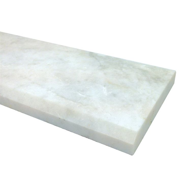 Shop American Olean  36-in x 4-in Snowflake White Marble Threshold at Lowe's Canada. Find our selection of floor tile at the lowest price guaranteed with price match.