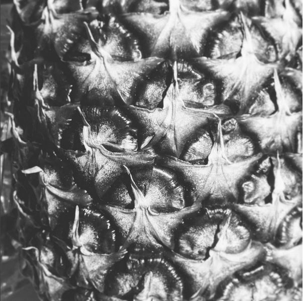 #ananas #pineapple #structure #texture #blackandwhite #bw