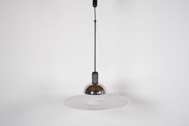 2 design flos frisbee lampen ( vintage jaren 60 70 80 retro