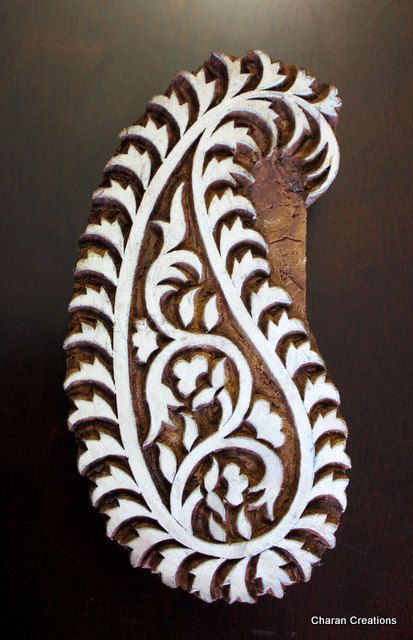 wood stamp paisley                                                                                                                                                                                 More