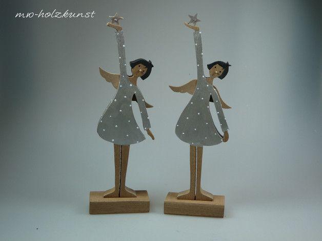 **Frisch aus der Werkstatt!!!** Der Engel ist auch in weiß erhältlich.