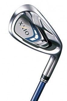 Nuevos palos de golf XXIO 9 para caballeros, diseñados con la última tecnología para proporcionar la mayor distancia.