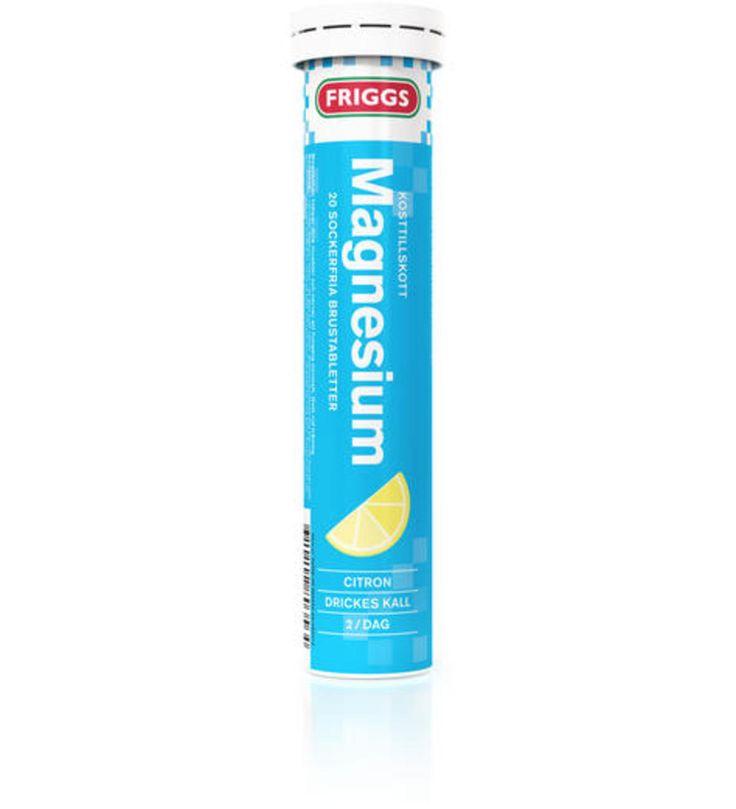 Friggs Magnesium 20 kpl poretabletti | Karkkainen.com verkkokauppa 3,80 e
